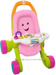 Fisher-Price ходунки коляска Stroll Learn Walker Pink Розовые FNV35