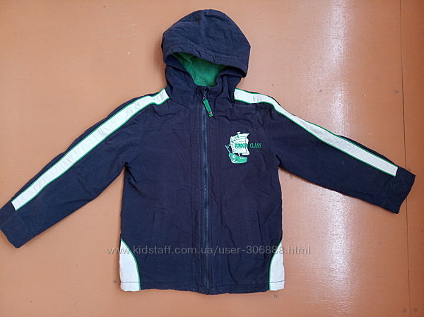 Куртка летне-осенняя спортивная на мальчика 128 см