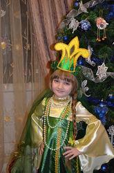Новогодний, карнавальный костюм ЦАРЕВНА ЛЯГУШКА, ЖАБКА