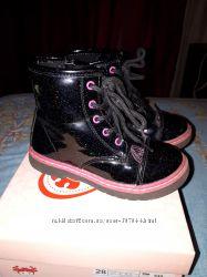 Модные ботиночки для принцессы 28 размер