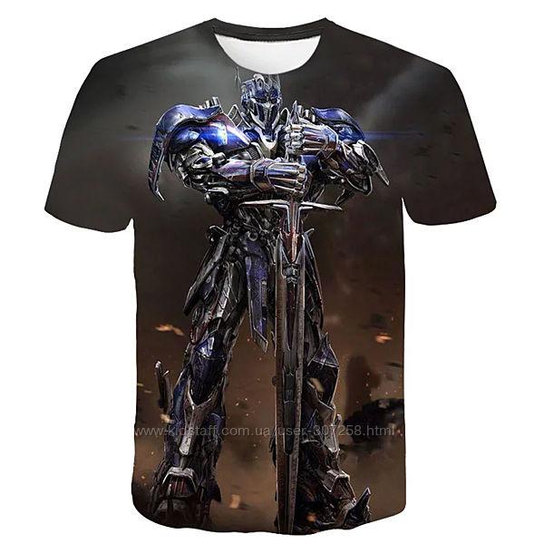 Футболка Optimus Prime, 3D, L.