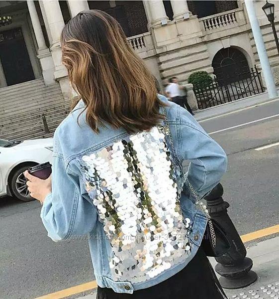 Джинсовая куртка, XL-XXL.