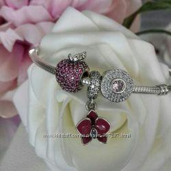 Браслет Пандора серебро, комплекты