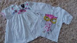 футболки для девочки бу на 2-4 года