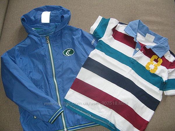 Курточка Geox и футболка Gymboree