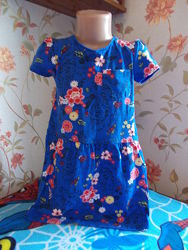 Платья, сарафаны, туники на 5-6 лет