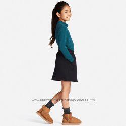 Юбка фирменная для девочки от Юникло UNIQLO Heattech Оригинал