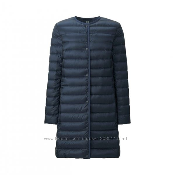Пальто пуховое ультратонкое Юникло Uniqlo. Оригинал