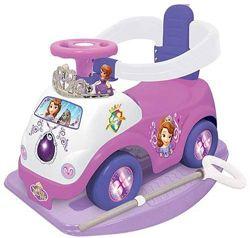 Машинка-каталка 3 В 1 KIDDIELAND Принцесса София