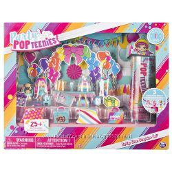 Party Popteenies - Party Time Surprise Set with Confetti, Collectible Doll