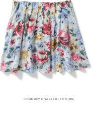 Легкая летняя юбка для девочки Old Navy р. S 6-7