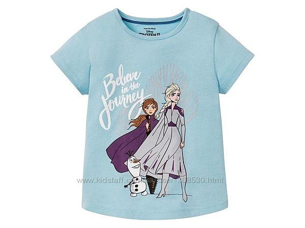 Футболка Анна и Эльза Фроузен 2 Frozen Disney