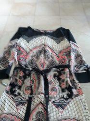 Платье Манго с поясом. Испания.