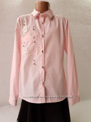Рубашки-блузки для девочек 122-146