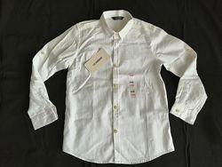 Белая рубашка LC Waikiki 8-9лет