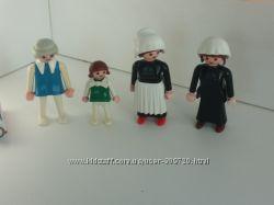 Фигурки Geobra Playmobil винтаж, цена за все
