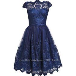 Королевское новое вечернее платье на выпускнойChi Chi London, 10  38  S - M