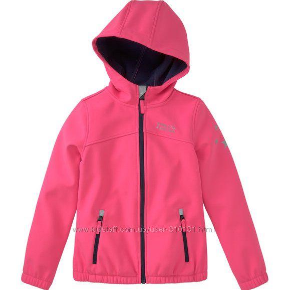Фирменная куртка софтшел Topolino, Германия, 164