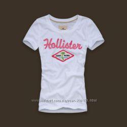 Hollister original Женская футболка 100 хлопок