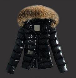 В стиле MONCLER женский пуховик парка монклер куртка