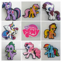 Джибитсы Jibbitz мій маленький Поні мой маленький пони My little pony