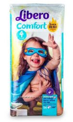 Подгузники Libero Comfort 3, 5, 5, 6