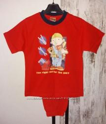 Пижама, костюм домашний дет. Bob Builder мальчику 5-6 лет рост 110-116 см
