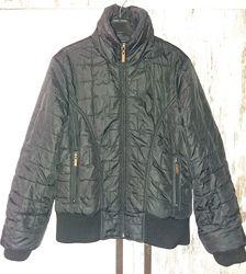 Модная стёганая куртка-бомпер из Англии на 10-12 лет / рост 146-158 см