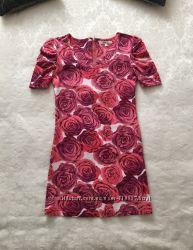 Туника в розах