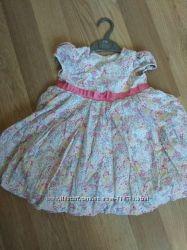 фирменное платье Mothercare