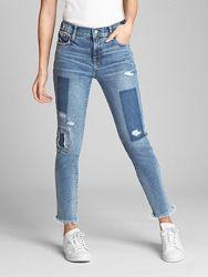 Джинсы Gap Mid Rise True Skinny Ankle Jeans