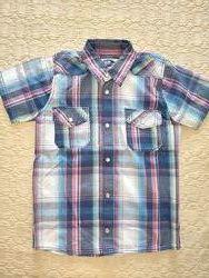Рубашка на мальчика M&S, р. 122, 7 лет,  хлопок, в отличном состоянии