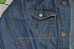 Рубашка Rebel джинсовая 5-6 лет