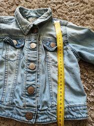 Джинсовая куртка некст