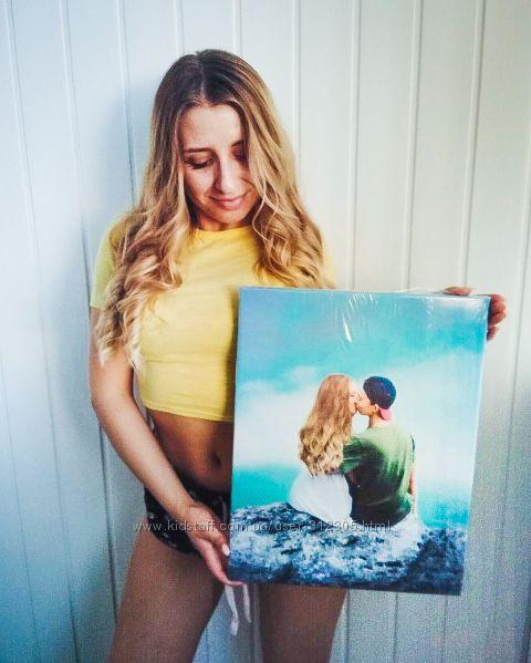 Создание и печать картины на холсте из ваших фото