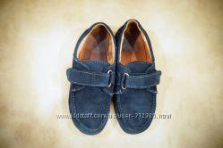 Замшевые туфли, мокасины 31 р 19, 5 см стелька