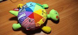 Черепаха Fancy мягкая развивающая игрушка шнуровка