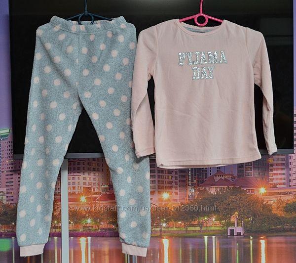 Пижама махровая, костюм для дома 7-9лет