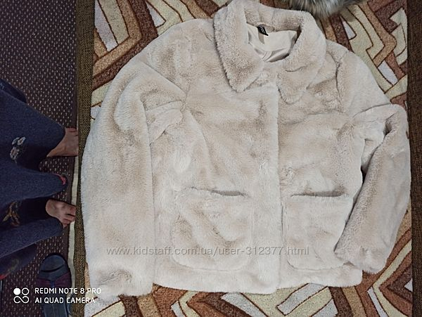 Куртка женская меховая шубка. размер S