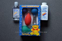 Гигиенический набор Кроха в подарок присыпка  или масло Lander Baby