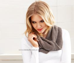 Теплый , женский шарф- труба. ТСМ TCHIBO