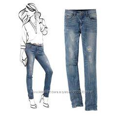 Модные джинсы Slim fit от ТСМ TCHIBO размер евро 38 евро 40