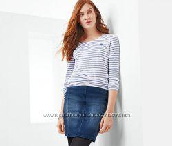 Классическая юбка из мягкого джинса размер евро 36-38 ТСМ TCHIBO