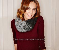 Уютный теплый шарф размер 36х146 ТСМ TCHIBO