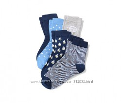 2 пары детских носочков размер 35-38 ТСМ TCHIBO