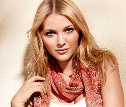 Легкий шифоновый шарф- шаль. 200х50 ТСМ TCHIBO