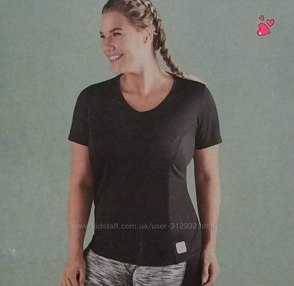 Спортивная женская футболка размер евро 48/50 Crivit с бумажной биркой