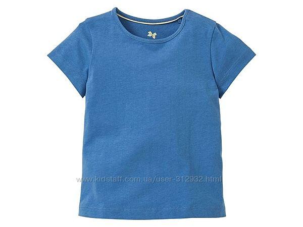 Тонкая, мягенькая футболка с плечевыми кнопками. Lupilu Lidl Германия