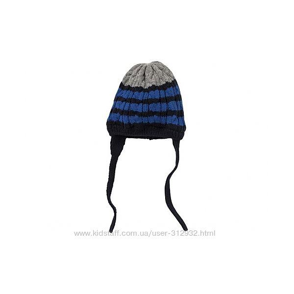 Детская  шапочка на флисе теплая, на завязках LUPILU Lidl Германия