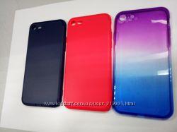 Новые силиконовые красивые чехлы для IPhone 7